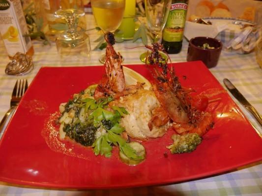 Gozo B&B dar ta Zeppi , dinner time