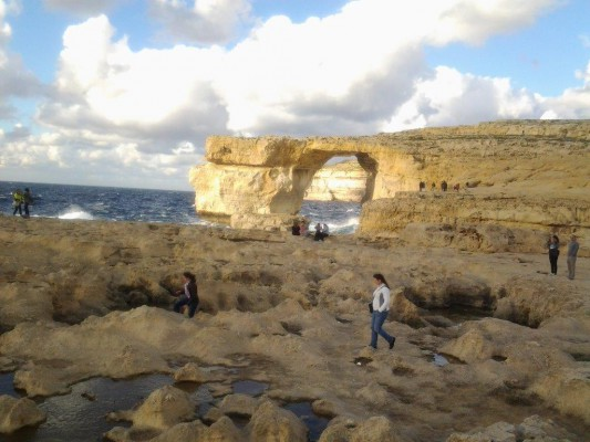 Gozo, B&B dar ta Zeppi , Dwerja azure window