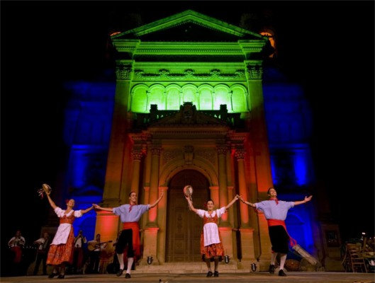 3th week of sept . folk dance festival Qala Gozo B&B dar ta Zeppi