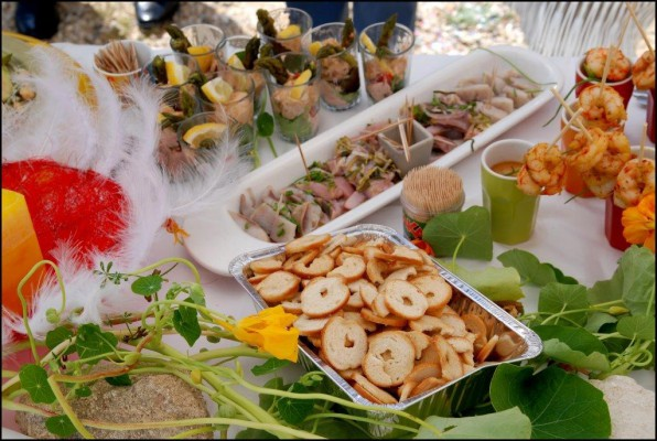 Wedding buffet Gozo B&B dar ta zeppi